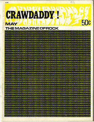 CRAWDADDY Magazine May 1968 Bob Dylan Jimi Hendrix 6 page interview Brian Wilson Pt2