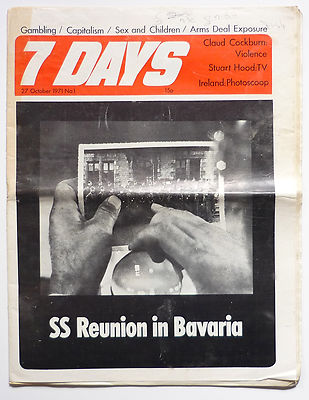 7 Days No 1 October 1971 SS Reunion in Bavaria Army in Ireland Derry Claud Cockburn