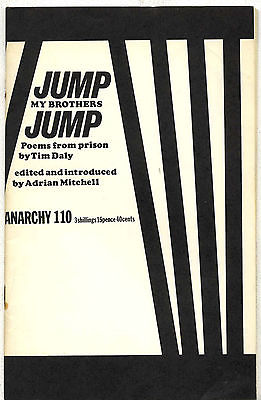 ANARCHY Journal No 110 1970 Poems from Prison by Tim Daley Jump my Brothers