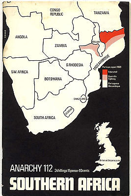 ANARCHY Journal No 112 1970 South Africa Zimbabwe Angola Guine Mozambique