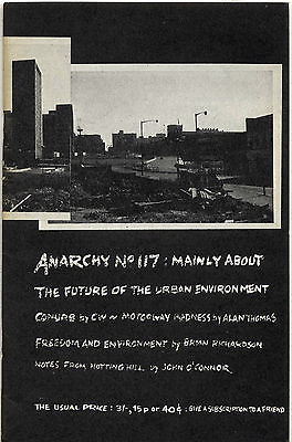 ANARCHY Journal No 117 1970 Freedom & environment Brian Richardson Alan Thomas