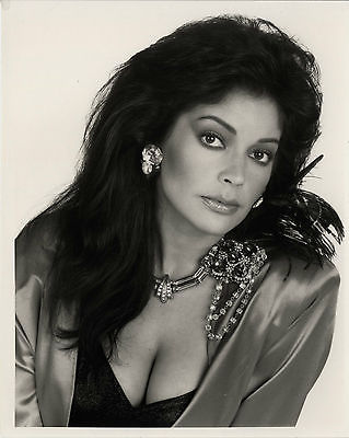 APPOLINA KOTENO Purple Rain Genuine Vintage 8x10 inch B&W Photograph Rare Lab Photo