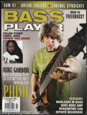 Bass Player Magazine February 2003 Mike Gordon Phish