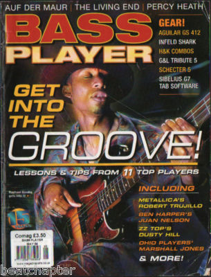 Bass Player Magazine May 2004 Living End Percy Heath Auf Der Maur
