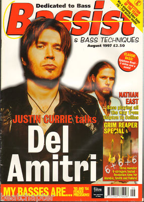 Bassist Magazine August 1997 Del Amitri Nathan East