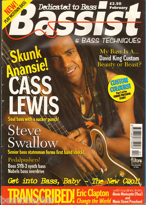 BASSIST Magazine February 1997 Skunk Anansie
