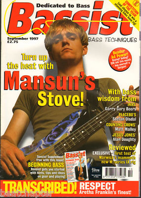 Bassist Magazine September 1997 Mansun Placebo