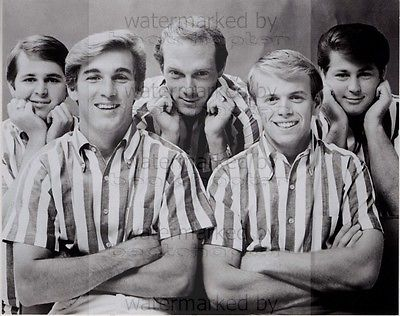 Beach Boys 8x10 inch Genuine B&W Agency Photograph RePrint Lab Photo No 13