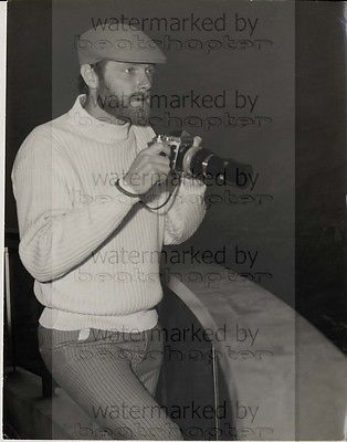 Beach Boys MIKE LOVE 8x10 inch Genuine B&W Agency Photograph 1960s Vintage Lab Photo