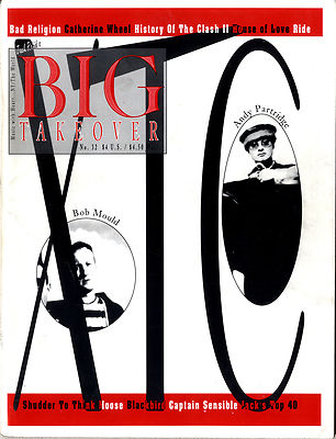 Big Takeover Magazine/Fanzine Issue No 32 Bad Religion The Clash House Of Love Capt Sensible XTC