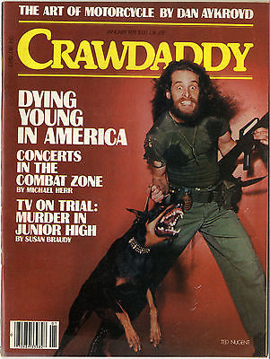 CRAWDADDY Magazine January 1978 George Clinton P Funk Cheap Trick David Bowie Sex Pistols