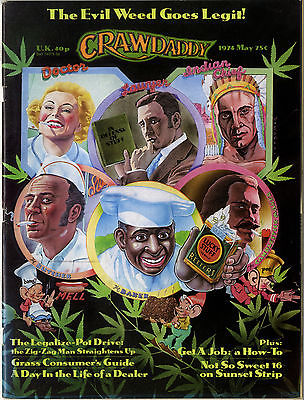 Crawdaddy Magazine May 1974 Faust Muddy Waters Hugh Masakela Todd Rundgren Cannabis