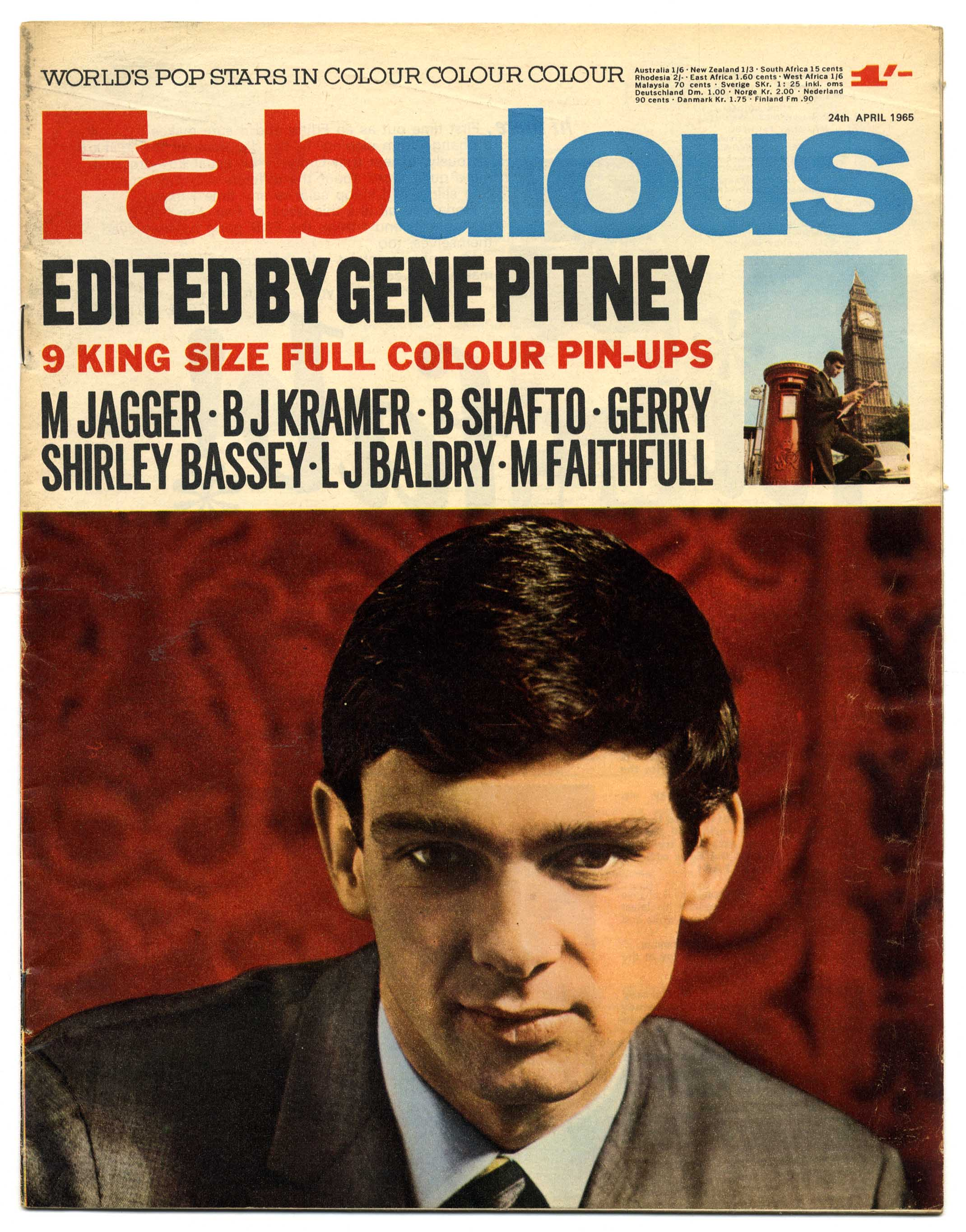 Image result for gene pitney rolling stones tour