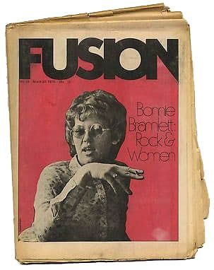 Fusion Magazine No 29 Bonnie Bramlett Ike TinaTurner The Doors Creedence 20 March 1970