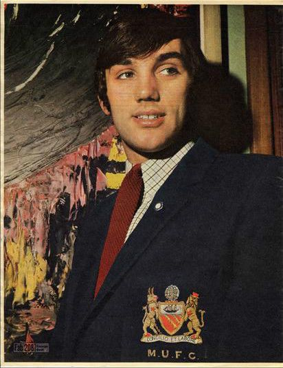 GEORGE BEST approx 10X13 inch pinup poster size press cutting/clipping 1967 Original
