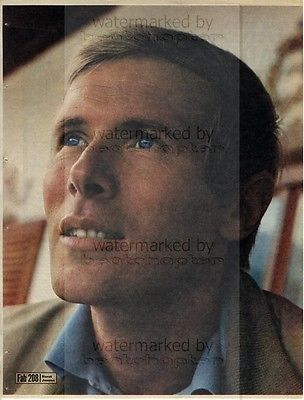 HORST Janson size approx 10X13 inch pinup poster size press cutting/clipping 1967