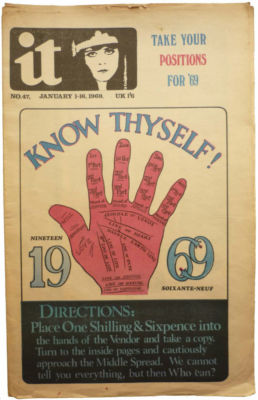 International Times No 47 January 1-16, 1969 IT UK UK Underground press Know Thyself 70's