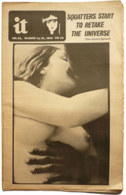 International Times No 52 March 14-27, 1969 IT UK UK Underground press Squatters 70's