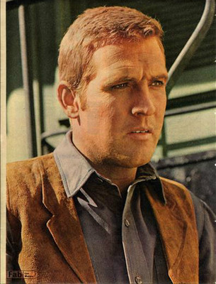 LEE MAJORS approx 10X13 inch pinup poster size press cutting/clipping 1966 Original