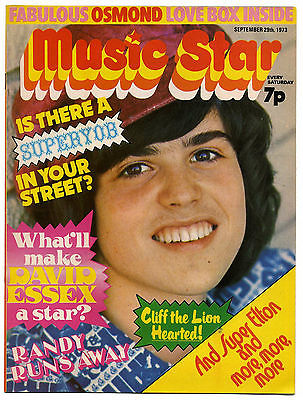 MUSIC STAR Magazine 29 September 1973 Zeppelin David Bowie Slade Mott Hoople David Essex Roy Wood