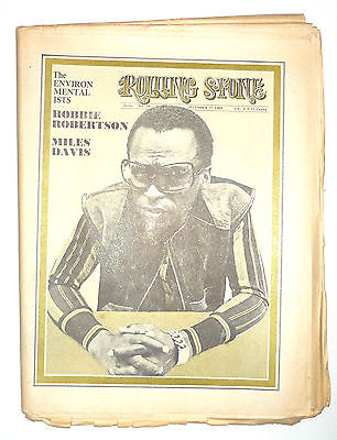 Rolling Stone Magazine No 48, 27 December 1969 Rolling Stones Miles Davis Robbie Robertson The Band