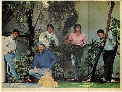 THE BEACH BOYS size approx 10X13 inch pinup poster size press cutting/clipping 1967