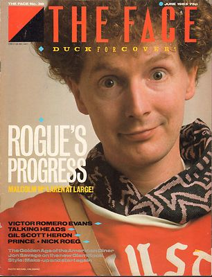 The Face Magazine No 38 June 1983 Talking Heads Prince Nick Roeg Malcolm McLaren Gil Scott Heron