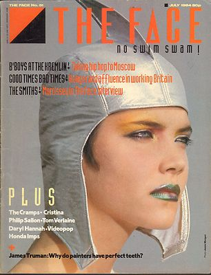 The Face Magazine No 51 July 1984 The Cramps Tom Verlaine Smiths Morrissey Daryl Hannah