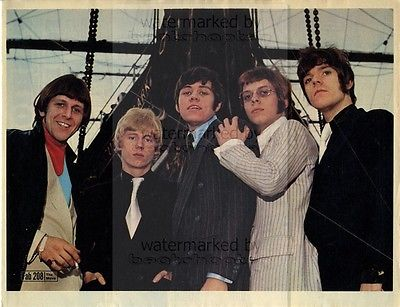The Move size approx 10X13 inch pinup poster size press cutting/clipping 1967