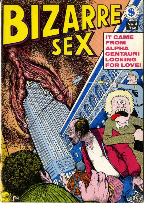 BIZARRE SEX Issue No 4 comic Kitchen Sink Ent 1975