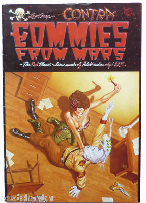 COMMIES FROM MARS Issue No 6 Underground Vintage Underground Comic Last Gasp 1985