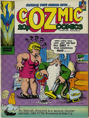 cOZmic Comics Issue No 2 1972 UK Oz Era Underground Comic Robert Crumb cover