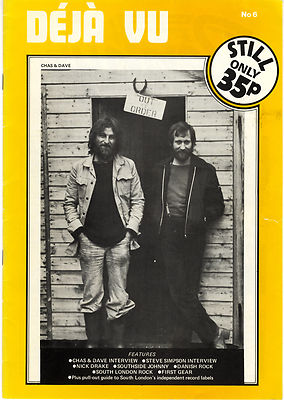 DEJA VU No 6 Chas & Dave Nick Drake Culpepers Orchard Ache Mealticket 1978