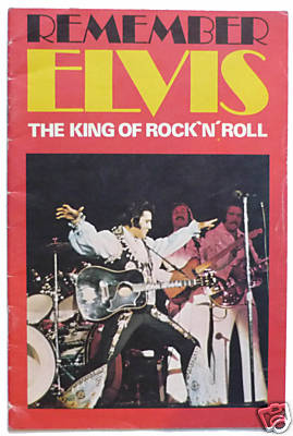 ELVIS PRESLEY Remember The King of rock N Roll A5 magazine