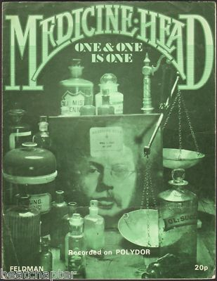MEDICINE HEAD One & One is One Vintage Sheet Music