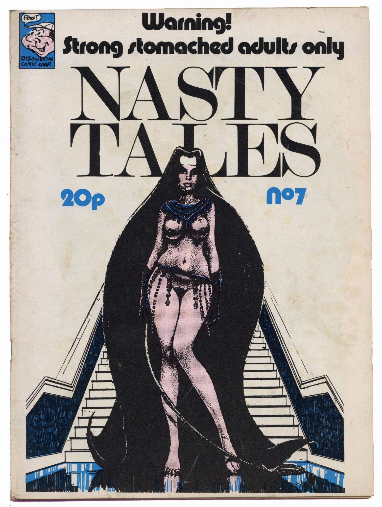 Nasty Tales Issue No 7 1972 UK Oz Era Underground Comic